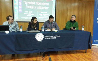 """Seminario CEJU, UCSH y UAHC: """"Juventud, movimientos sociales y militancias"""""""